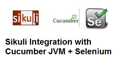 Sikuli Integration with Cucumber JVM+Selenium+ Image Objects Model+