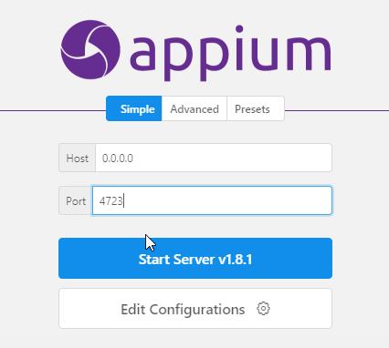 appiumDesktop